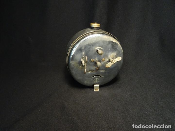 Despertadores antiguos: reloj despertador. Astorga.leon. marca Cid, funciona - Foto 2 - 194311933