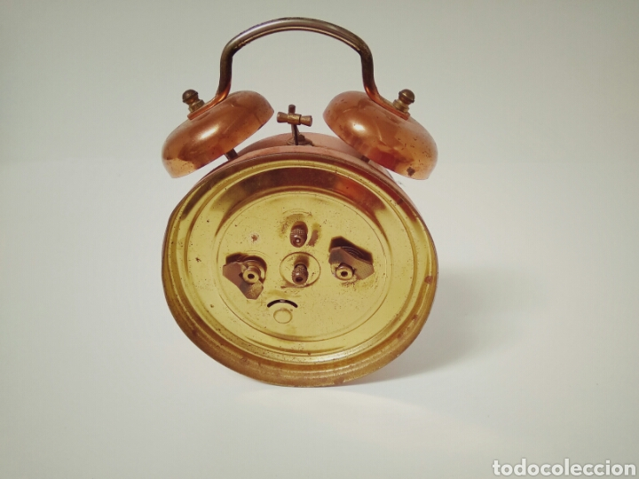Despertadores antiguos: DESPERTADOR FUNCIONANDO DE LOS AÑOS 50 JAZZ REPETITION FABRICADO EN FRANCIA AAA - Foto 4 - 194339981