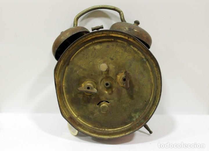 Despertadores antiguos: Reloj despertador JAZ REPETICIÓN. FUNCIONANDO PERFECTAMENTE. - Foto 4 - 194488581