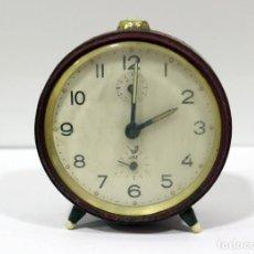 Despertadores antiguos: RELOJ DESPERTADOR JAZ. FUNCIONANDO PERFECTO. . Lote 194490043