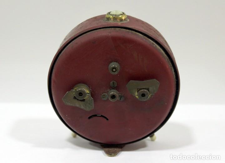 Despertadores antiguos: Reloj despertador JAZ. FUNCIONANDO PERFECTO. - Foto 5 - 194490043