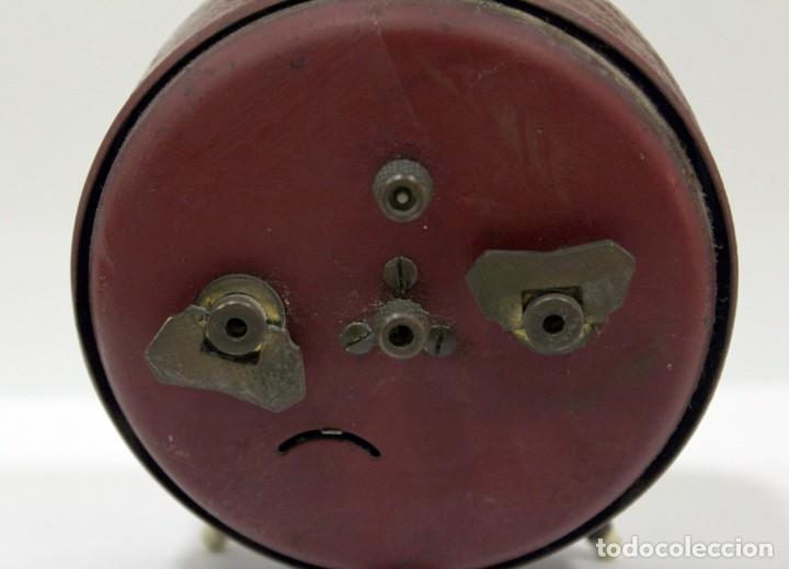 Despertadores antiguos: Reloj despertador JAZ. FUNCIONANDO PERFECTO. - Foto 6 - 194490043