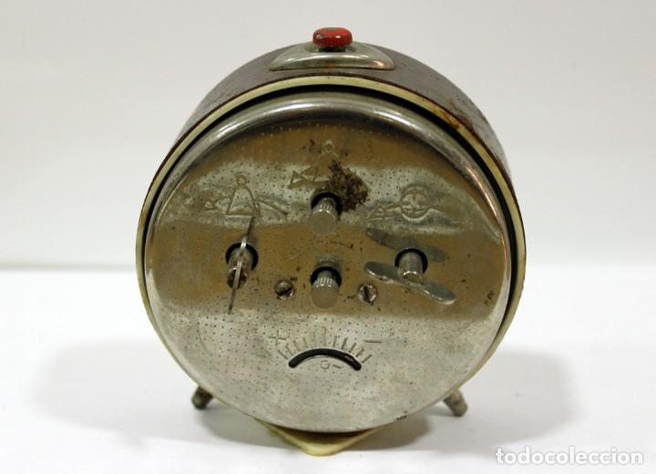 Despertadores antiguos: Reloj despertador ROSTOV - MADE IN USSR. NO FUNCUIONA. - Foto 5 - 194492582