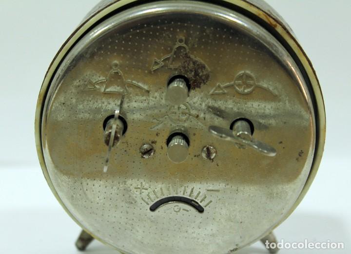 Despertadores antiguos: Reloj despertador ROSTOV - MADE IN USSR. NO FUNCUIONA. - Foto 6 - 194492582