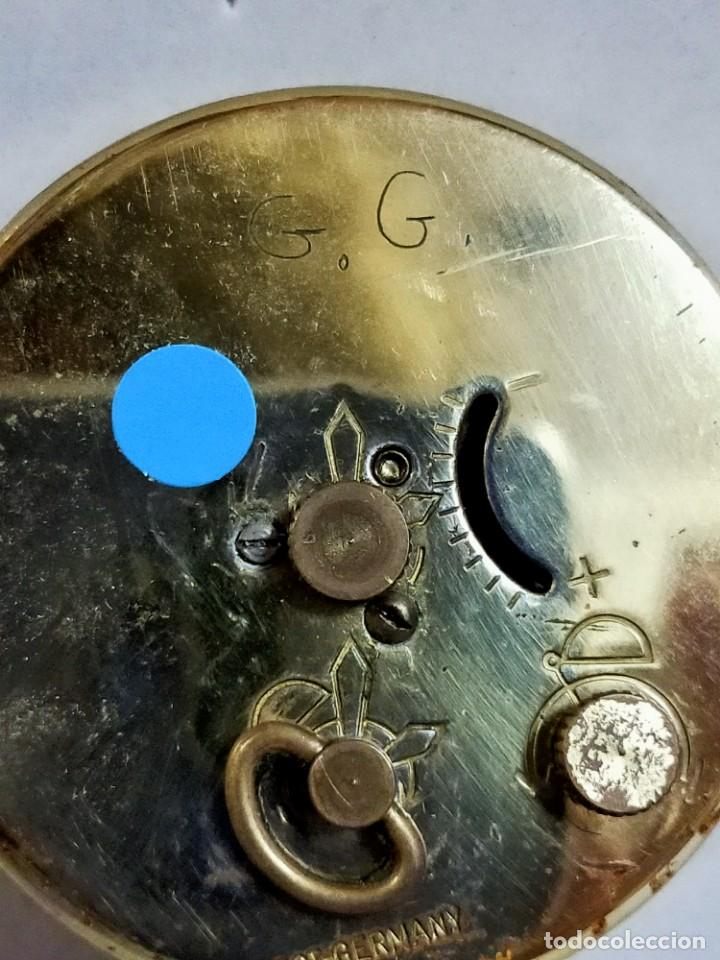 Despertadores antiguos: RELOJ DESPERTADOR BLESSING, WEST GERMANY, CARGA MANUAL, FUNCIONANDO - Foto 9 - 194508547