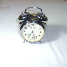 Despertadores antiguos: RELOJ DESPERTADOR MARCA: NOWLEY - MADE IN GDR.FUNCIONANDO.. Lote 194888991