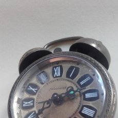 Despertadores antiguos: RELOJ DESPERTADOR BLESSING AÑOS 50 ALEMAN. . FUNCIONA . Lote 194931360