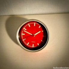 Despertadores antiguos: RELOJ JUVENIL A PILA Ø 8,5 CM SOBREMESA O MURAL (IMÁN). Lote 195006883