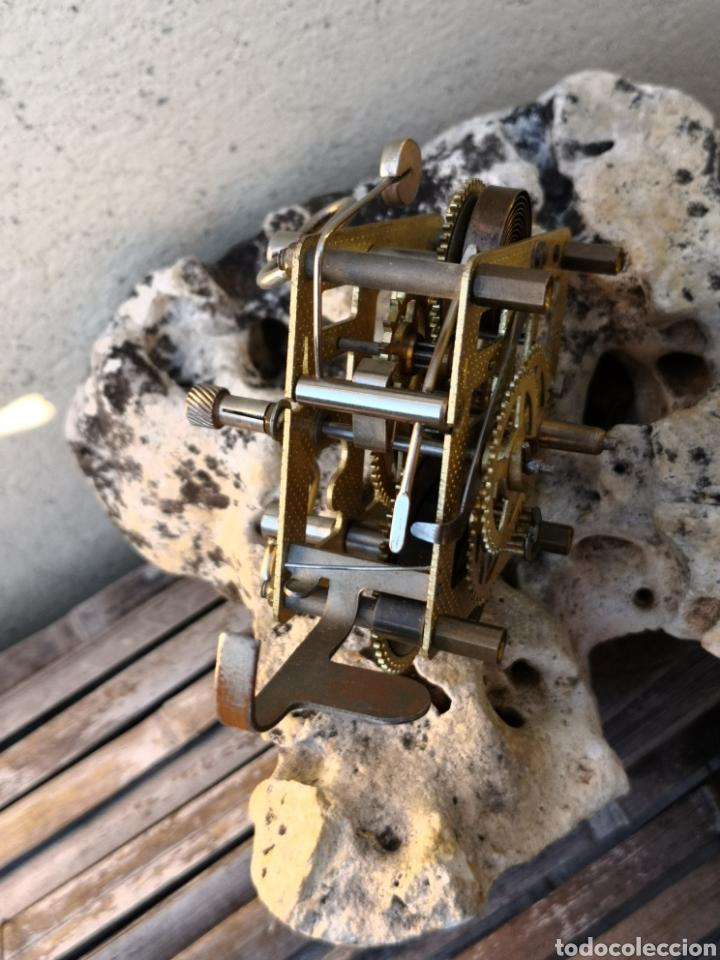 Despertadores antiguos: C4/1 Mecanismo reloj despertador PIEZAS - Foto 2 - 195195583