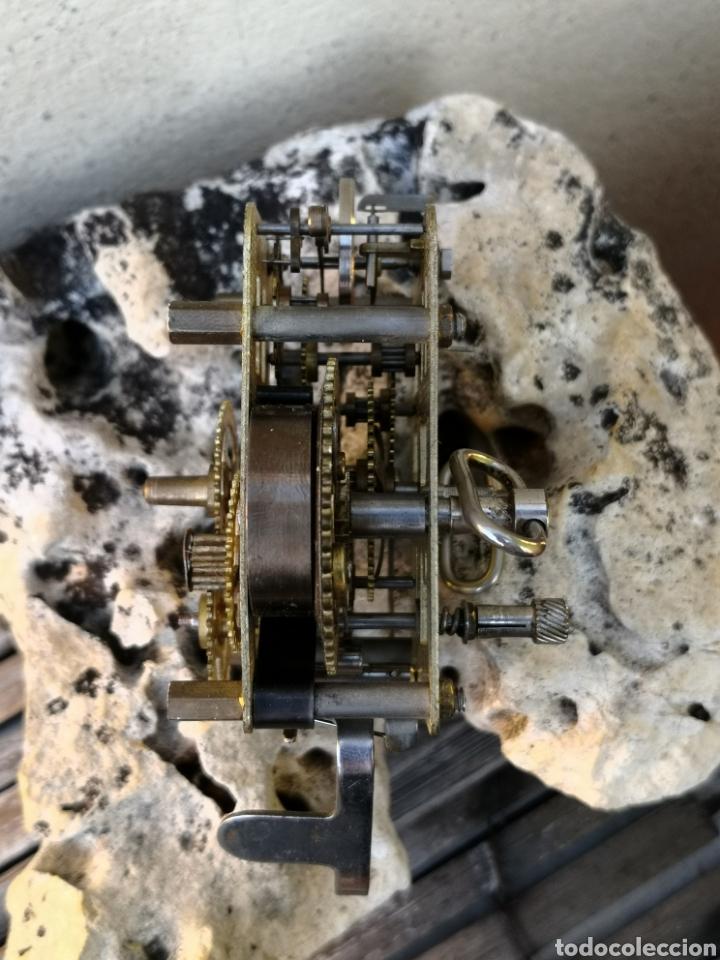 Despertadores antiguos: C4/1 Mecanismo reloj despertador PIEZAS - Foto 3 - 195195583