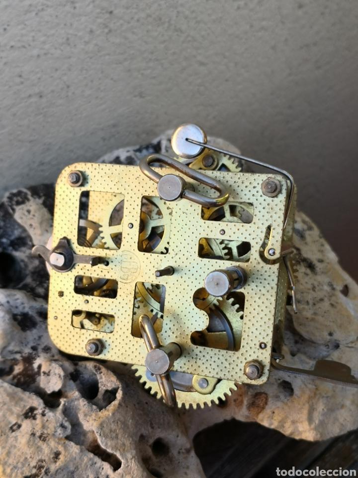 Despertadores antiguos: C4/1 Mecanismo reloj despertador PIEZAS - Foto 4 - 195195583