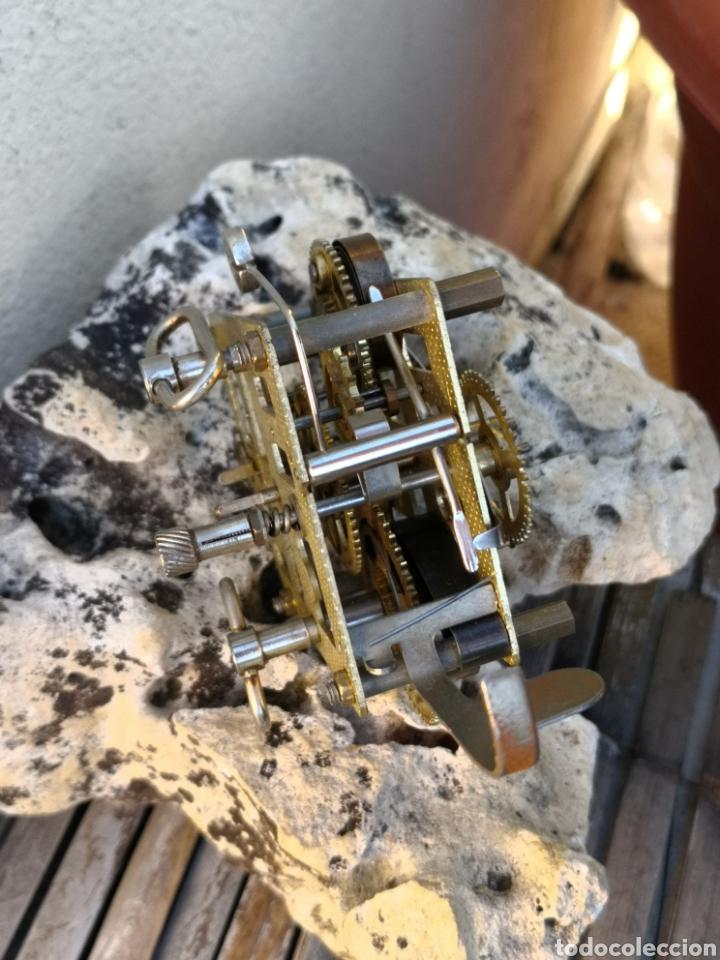 Despertadores antiguos: C4/1 Mecanismo reloj despertador PIEZAS - Foto 5 - 195195583