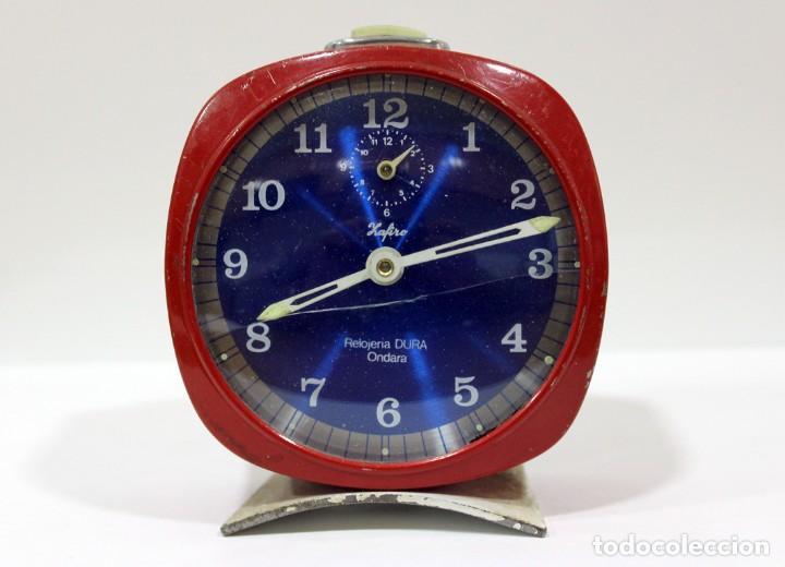 RELOJ ZAFIRO - RELOJERÍA DURÁ DE ONDARA. (Relojes - Relojes Despertadores)