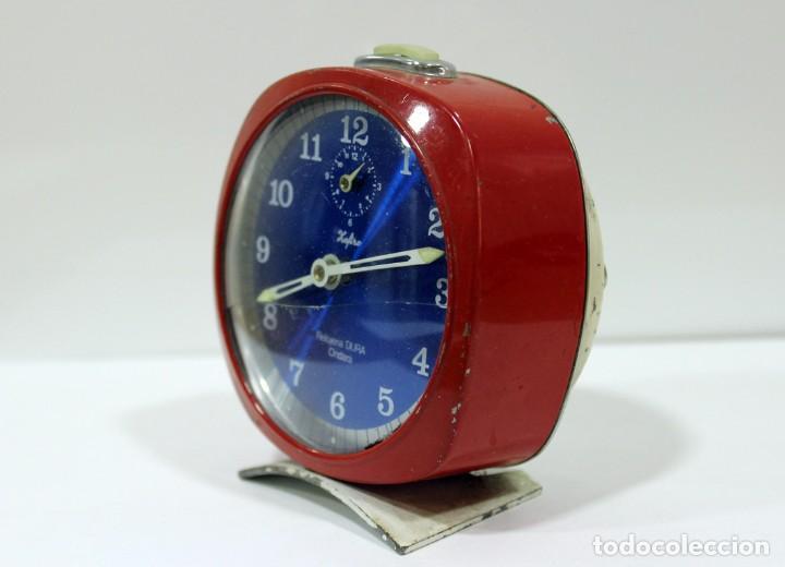 Despertadores antiguos: Reloj ZAFIRO - RELOJERÍA DURÁ DE ONDARA. - Foto 2 - 195210425