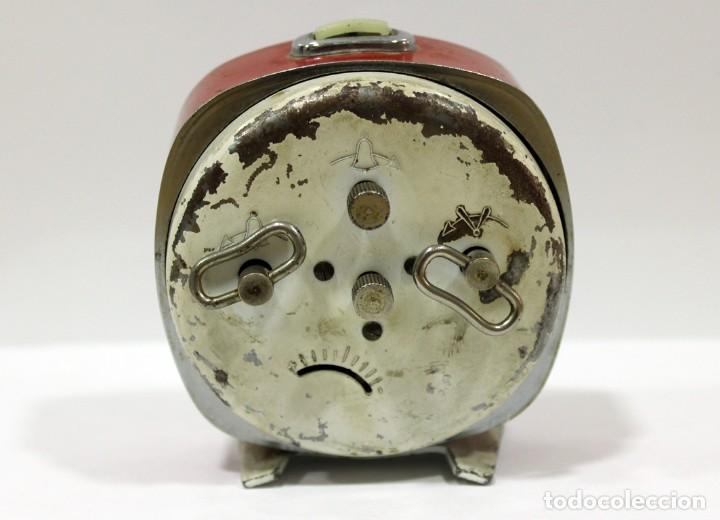 Despertadores antiguos: Reloj ZAFIRO - RELOJERÍA DURÁ DE ONDARA. - Foto 5 - 195210425
