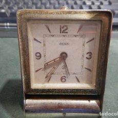 Despertadores antiguos: JAEGER 2 DIAS. Lote 195321281