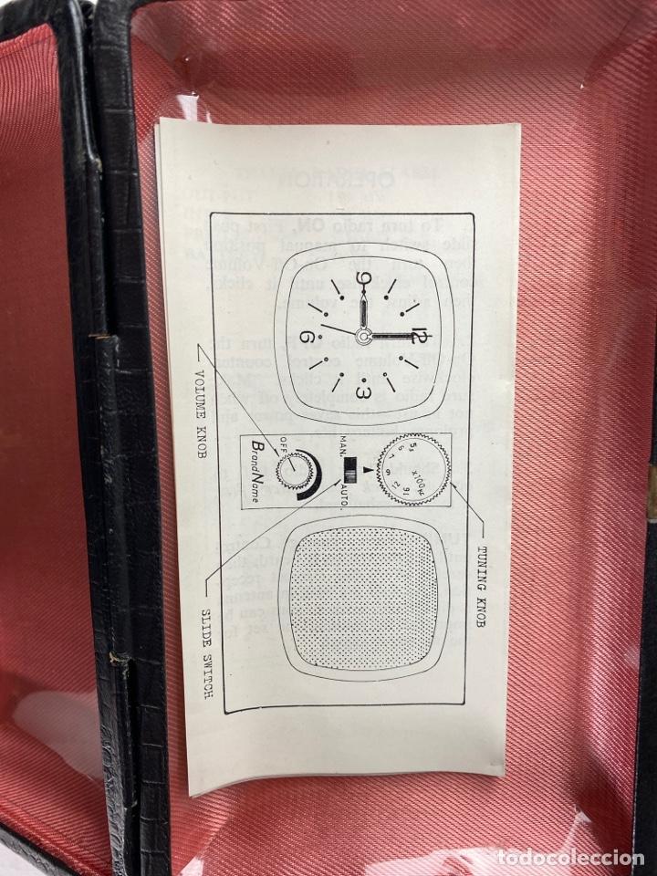 Despertadores antiguos: RADIO RELOJ DESPERTADOR KENTON. AÑOS 60. - Foto 7 - 195375678