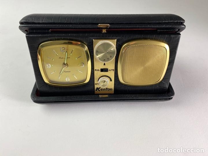 RADIO RELOJ DESPERTADOR KENTON. AÑOS 60. (Relojes - Relojes Despertadores)