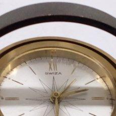Despertadores antiguos: RELOJ DESPERTADOR SWIZA. Lote 195416313