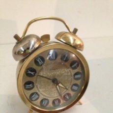 Despertadores antiguos: ANTIGUO DESPERTADOR. Lote 195916483