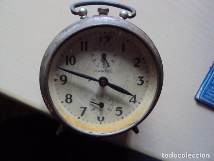 RELOJ CARTEL (Relojes - Relojes Despertadores)