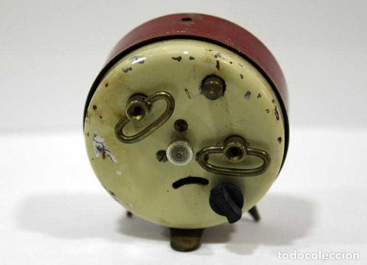 Despertadores antiguos: Pequeño Reloj despertador BIJOU. FUNCIONANDO PERFECTO. - Foto 5 - 196529360