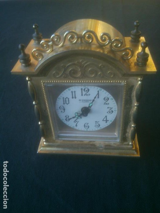 Despertadores antiguos: RELOJ DESPERTADOR BLESSING -ALARM- WEST GERMANY. FUNCIONANDO - Foto 3 - 197150948