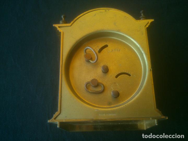 Despertadores antiguos: RELOJ DESPERTADOR BLESSING -ALARM- WEST GERMANY. FUNCIONANDO - Foto 5 - 197150948