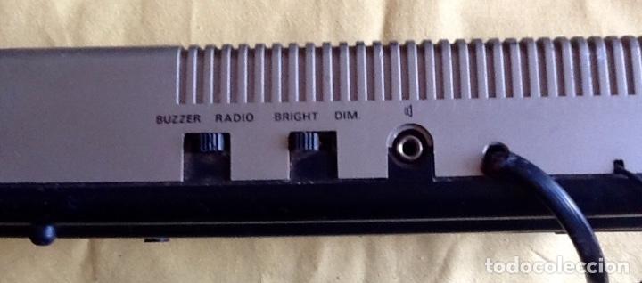 Despertadores antiguos: RELOJ DESPERTADOR- RADIO. - OSKAR - ENVIO CERTIFICADO INCLUIDO. - Foto 7 - 198430430