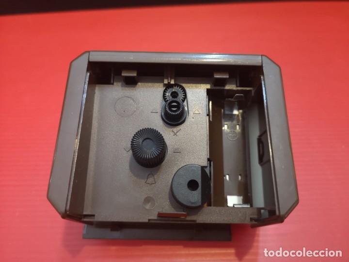 Despertadores antiguos: Reloj despertador kienzle con luz linterna. Años 80. Funcionando. Vintage - Foto 4 - 198474412