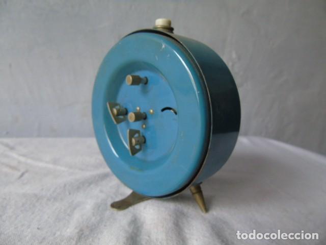 Despertadores antiguos: reloj despertador cafes bahia fabricado en españa - reloj para restaurar - Foto 3 - 198479028