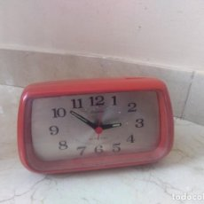 Despertadores antiguos: ANTIGUO RELOJ DESPERTADOR RHYTHM. Lote 199794403