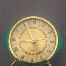 Despertadores antiguos: RELOJ DESPERTADOR DIEHL. Lote 200072660