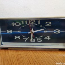 Despertadores antiguos: PRECIOSO RELOJ TRANSISTOR DESPERTADOR VINTAGE IMPEX 7RA005. Lote 235522395