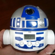 Despertadores antiguos: RELOJ DESPERTADOR STAR WARS. Lote 201667442