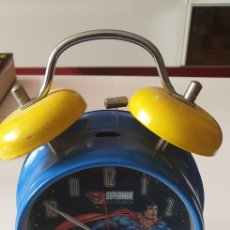 Despertadores antiguos: DESPERTADOR SUPERMAN THE MAN OF STEEL TM & DC COMICS(S06). Lote 202560730
