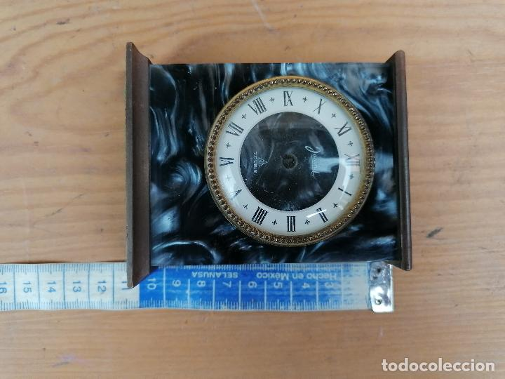 Despertadores antiguos: RELOJ JACCARD DE SOBREMESA EN MARMOL - Foto 3 - 204613233