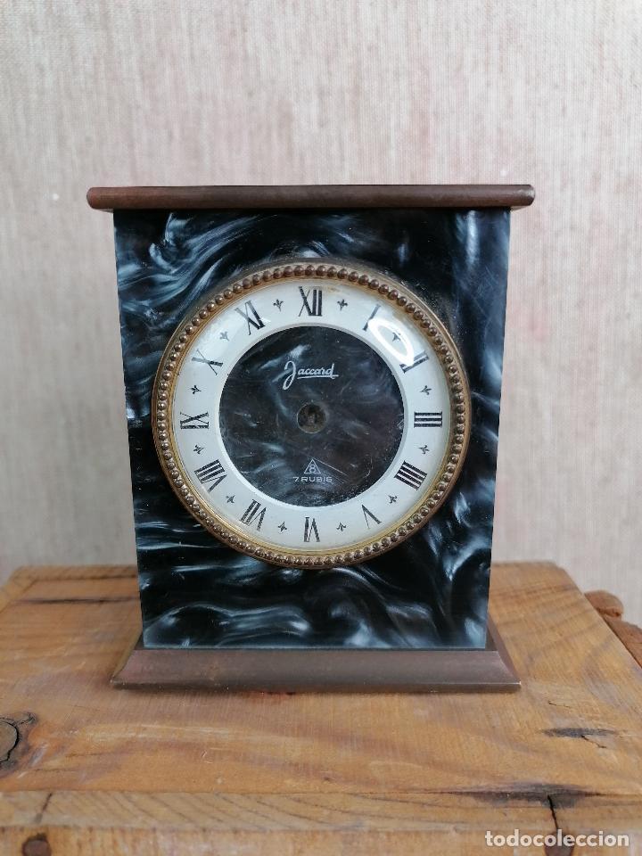 RELOJ JACCARD DE SOBREMESA EN MARMOL (Relojes - Relojes Despertadores)