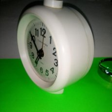 Despertadores antiguos: DESPERTADOR 4 RUBIS TIMEMASTER - EUROPEO. FUNCIONANDO. 11.5 X 13 DESCRIPCION Y FOTOS.. Lote 204637371
