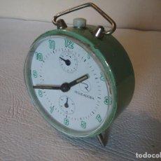 Despertadores antiguos: RELOJ DESPERTADOR REGULADORA.. Lote 204715251