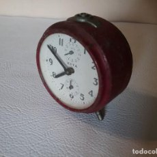 Despertadores antiguos: RELOJ DESPERTADOR META.. Lote 204715611