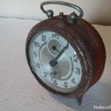 Despertadores antiguos: RELOJ DESPERTADOR OBAYARDO. Lote 204716371