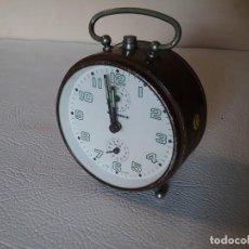 Despertadores antiguos: DESPERTADOR WHERLE. Lote 204716946