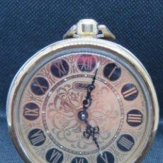 Despertadores antiguos: RELOJ DESPERTADOR MARCA RHYTHM DE JAPON AÑOS 1950. Lote 205087990