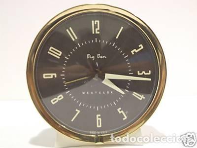 RELOJ DESPERTADOR BIG BEN WESTCLOX USA-1964 (Relojes - Relojes Despertadores)