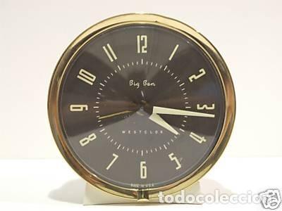 Despertadores antiguos: Reloj Despertador Big Ben WestClox USA-1964 - Foto 2 - 205124661