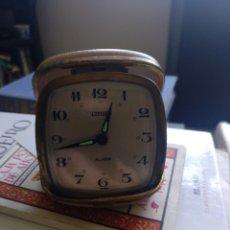 Despertadores antiguos: DESPERTADOR CITIZEN. Lote 205127011