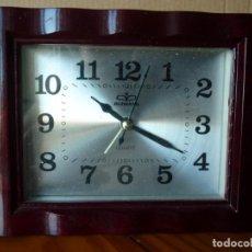 Despertadores antiguos: RELOJ DESPERTADOR RUIWANG. Lote 205197465