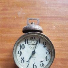 Despertadores antiguos: RELOJ DESPERTADOR PHENIX USA DE 10CM DE DIÁMETRO PARA PIEZAS O RESTAURAR. Lote 206192365