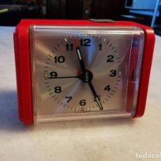 Despertadores antiguos: RELOJ DESPERTADOR VDO MADE IN GERMANI. Lote 206245870